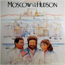 Discos de vinilo: VVAA - MOSCOW ON THE HUDSON (BSO) - LP GERMANY 1984 - RCA ‎BL85036. Lote 184143528