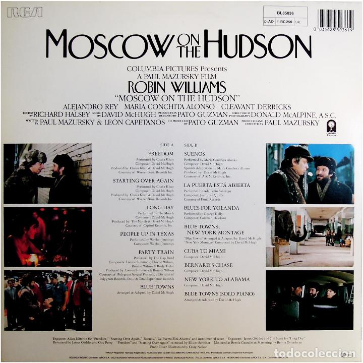 Discos de vinilo: VVAA - Moscow On The Hudson (BSO) - Lp Germany 1984 - RCA ‎BL85036 - Foto 2 - 184143528