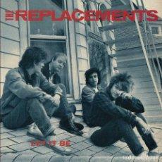 Discos de vinilo: LP THE REPLACEMENTS LET IT BE VINILO. Lote 184143965