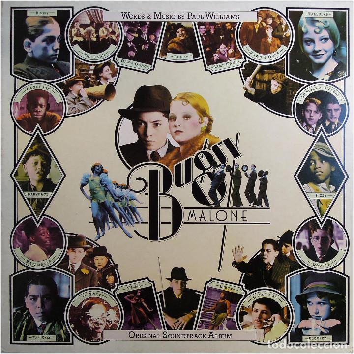 PAUL WILLIAMS - BUGSY MALONE (BSO) - LP UK 1976 - POLYDOR 2442 142 (Música - Discos - LP Vinilo - Bandas Sonoras y Música de Actores )