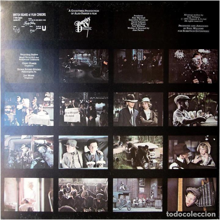 Discos de vinilo: Paul Williams - Bugsy Malone (BSO) - LP UK 1976 - Polydor 2442 142 - Foto 5 - 184145887
