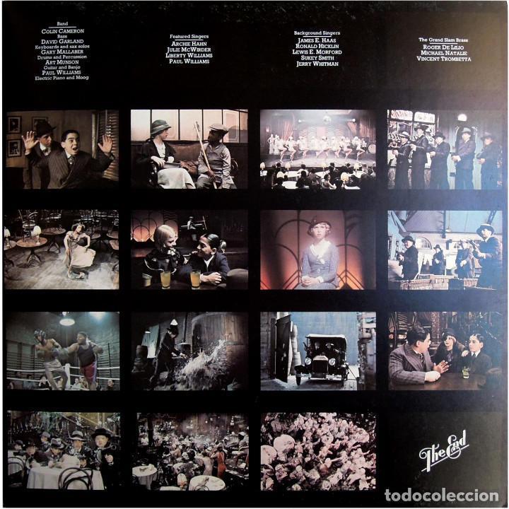 Discos de vinilo: Paul Williams - Bugsy Malone (BSO) - LP UK 1976 - Polydor 2442 142 - Foto 6 - 184145887
