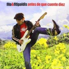 Discos de vinilo: FITO Y FITIPALDIS* LP VINILO 2009 * ANTES DE QUE CUENTE DIEZ * GATEFOLD * PRECINTADO. Lote 184152596