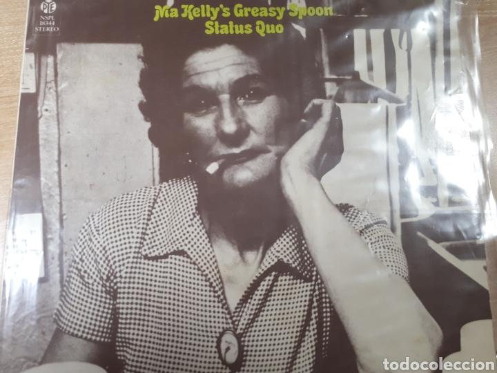 STATUS QUO MA KELLY S GREASY SPOON (Música - Discos - LP Vinilo - Pop - Rock - Extranjero de los 70)