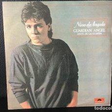 Discos de vinilo: DISCO SINGLE NINO DE ANGELO , ANGEL DE LA GUARDA, POLYDOR. Lote 184165880