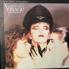 Discos de vinilo: DISCO SINGLE VISAGE, AMOR A MEDIDA, LOVE GLOVE, POLYDOR. Lote 184167270