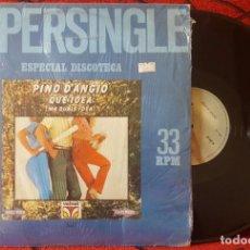 Discos de vinilo: PINO D'ANGIO **QUE IDEA (MA QUALE IDEA)** MAXI SINGLE VINILO 1981 VENEZUELA . Lote 184171718