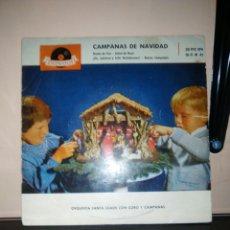 Discos de vinilo: CAMPANAS DE NAVIDAD. Lote 184180128