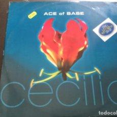 Discos de vinilo: ACE OF BASE - CECILIA . Lote 184183206