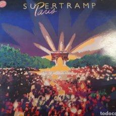 Discos de vinilo: SUPERTRAMP PARIS DOBLE LP EN DIRECTO. Lote 184188118