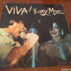 Discos de vinilo: VIVA ROXY MUSIC-LP DISCO CARPETA ABIERTA. Lote 184190125