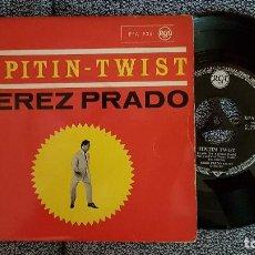 Discos de vinilo: PÉREZ PRADO - TIPITIN-TWIST. EDICIÓN EN ALEMANIA. AÑO 1962. EN ESPAÑA NO SE EDITÓ. COLLECCIONISTAS. Lote 184193157