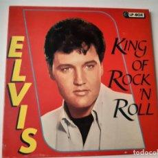 Discos de vinilo: ELVIS PRESLEY- KING OF ROCK´N ROLL 3 LP BOX - EUROPE 1989 - VINILOS COMO NUEVOS.. Lote 184193613