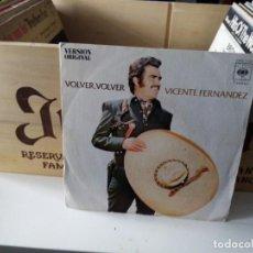 Discos de vinilo: VICENTE FERNÁNDEZ VOLVER, VOLVER. Lote 184195050