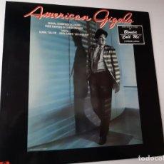 Discos de vinil: AMERICAN GIGOLO- BANDA SONORA- RICHARD GERE- SPAIN LP 1980- VINILO COMO NUEVO.. Lote 184196953