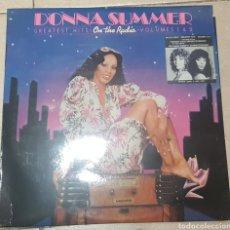 Discos de vinilo: DONNA SUMMER - GREATEST HITS I & II - 2 LPS - VINILO CON POSTER. Lote 184212405