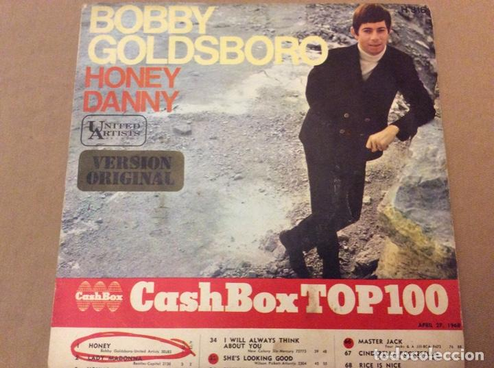 BOBBY GOLDSBORO - HONEY / DANNY. UA RECORDS 1968. (Música - Discos - Singles Vinilo - Pop - Rock Extranjero de los 50 y 60)