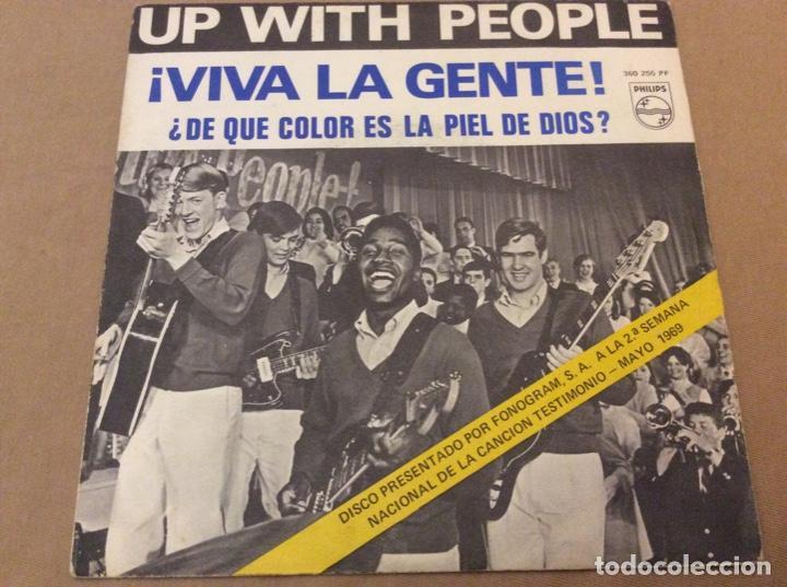 UP WITH THE PEOPLE. VIVA LA GENTE. 1969. (Música - Discos - Singles Vinilo - Pop - Rock Extranjero de los 50 y 60)