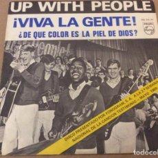 Discos de vinilo: UP WITH THE PEOPLE. VIVA LA GENTE. 1969.. Lote 184219172