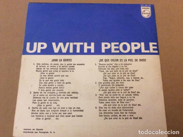 Discos de vinilo: UP WITH THE PEOPLE. viva la gente. 1969. - Foto 2 - 184219172