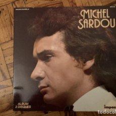 Discos de vinilo: MICHEL SARDOU – MICHEL SARDOU SELLO: IMPACT (2) – 6995 500 FORMATO: 2 × VINYL, LP, COMPILATION . Lote 184220056