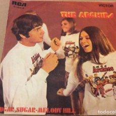 Discos de vinilo: THE ARCHIES - SUGAR, SUGAR / MELODY HILL. RCA 1969.. Lote 184220562