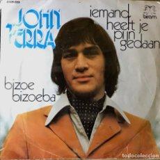 Discos de vinilo: SENCILLO BELGA DE JOHN TERRA AÑO 1973. Lote 26989850