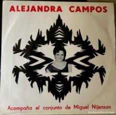 Discos de vinilo: EP ARGENTINO DE ALEJANDRA CAMPOS AÑO 1966. Lote 27503094