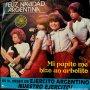 SENCILLO ARGENTINO DE AVELLANA AÑO 1980