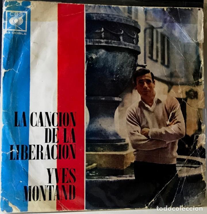 EP ARGENTINO DE YVES MONTAND AÑO 1968 (Música - Discos de Vinilo - EPs - Canción Francesa e Italiana)