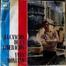 Discos de vinilo: EP ARGENTINO DE YVES MONTAND AÑO 1968. Lote 56469710