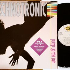 Discos de vinilo: LP: TECHNOTRONIC - PUMP UP THE JAM (MAX MUSIC) SPAIN - CLASSIC VINTAGE 80'S DISCO MUSIC -. Lote 184244637