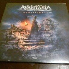 Discos de vinilo: AVANTASIA - 2 LP - GHOSTLIGHTS - PICTURE DISC - EDICION LIMITADA - PRECINTADO - EDGUY - HELLOWEEN. Lote 184247027