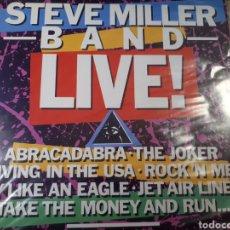 Discos de vinilo: STEVE MILLER BAND LIVE. Lote 184255548