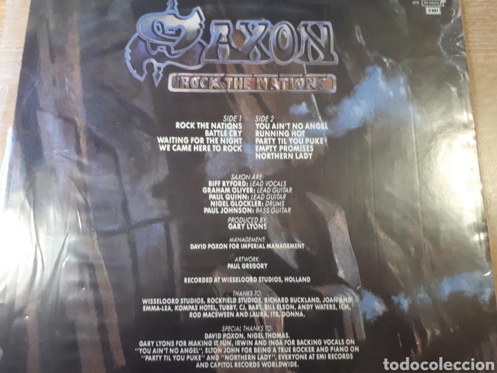 Discos de vinilo: SAXON ROCK THE NATIONS - Foto 2 - 184256417