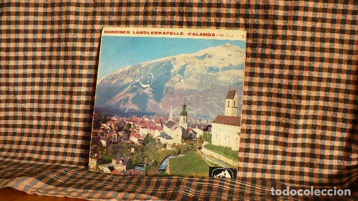 BÜNDNER LÄNDLERKAPELLE CALANDA, VOL. 2, LA VOIX DE SON MAÎTRE ?– 7 EMF 159, FRANCIA. (Música - Discos de Vinilo - EPs - Clásica, Ópera, Zarzuela y Marchas)