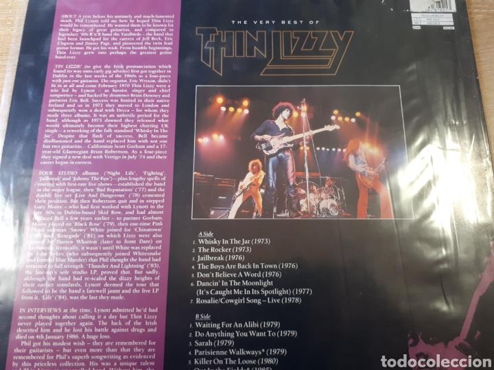 Discos de vinilo: THIN LIZZY THE VERY BEST - Foto 2 - 184260705