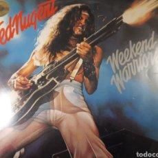 Discos de vinilo: TED NUGENT WEEKEND WARRIORS. Lote 184268168