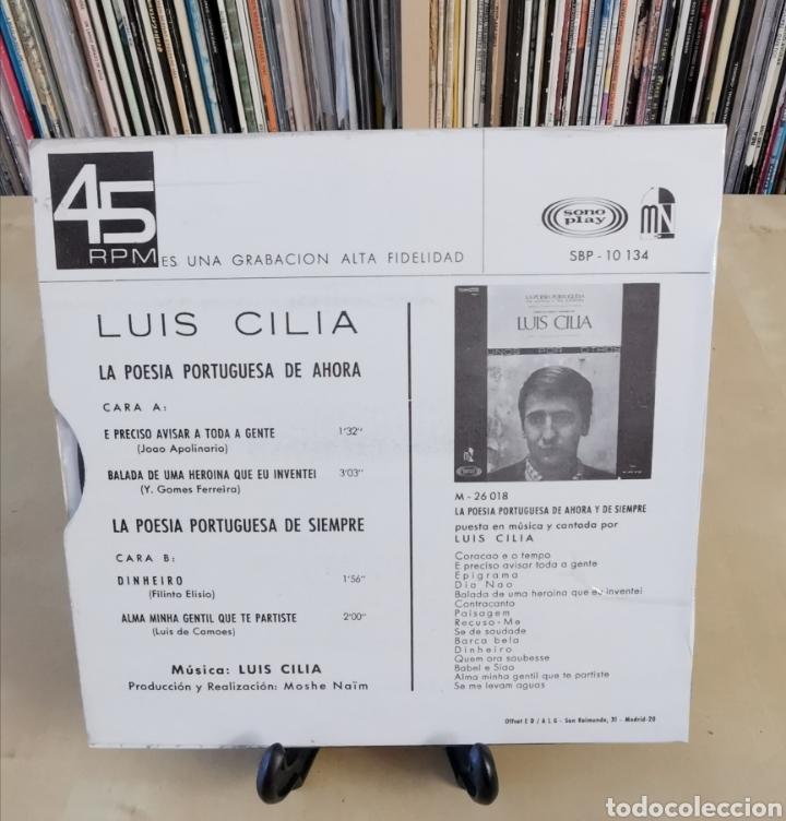Discos de vinilo: LUIS CILIA -EP- UNOS POR OTROS OR SPAIN 60,S - Foto 2 - 184269191