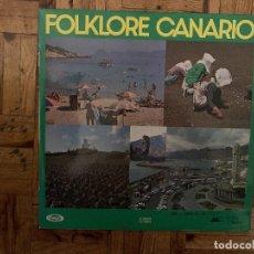 Discos de vinilo: FOLKLORE CANARIO. Lote 184270288