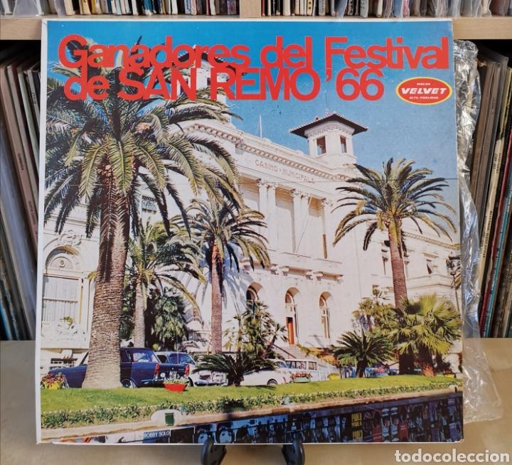 FESTIVAL SAN REMO 66 LP OR 60,S (Música - Discos - LP Vinilo - Otros Festivales de la Canción)