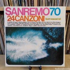 Discos de vinilo: SAN REMO 70 -LP- 24 CANZONI 70,S. Lote 184271706