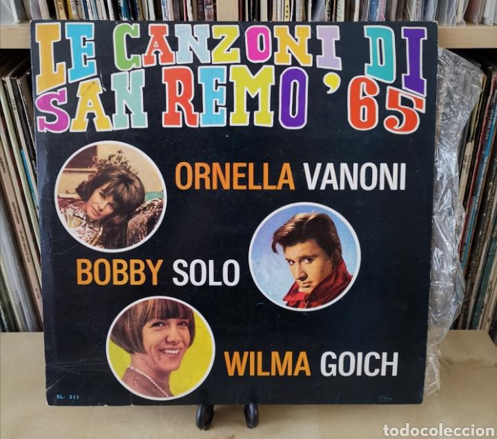 SAN REMO 65 -LP- LE CANZONI DI... 60,S (Música - Discos - LP Vinilo - Otros Festivales de la Canción)