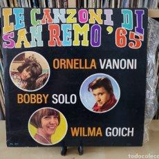 Discos de vinil: SAN REMO 65 -LP- LE CANZONI DI... 60,S. Lote 184272295