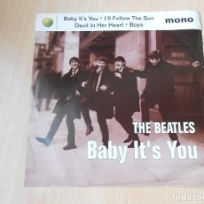 Discos de vinilo: BEATLES, THE, SG, BABY IT´S YOU+ 3, AÑO 1995 MADE IN U.S.A.. Lote 184272526