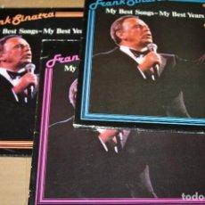 Discos de vinilo: FRANK SINATRA MY BEST SONGS, 3 VOLUMENS, MADE IN GERMANY. Lote 184275008