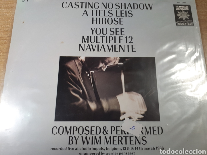Discos de vinilo: WIM MERTENS A MAN OF NO FORTUNE - Foto 2 - 184276425