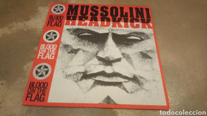 MUSSOLINI HEADKICK–BLOOD ON THE FLAG - VINILO EDICIÓN BÉLGICA 1990.BUEN ESTADO (Música - Discos - LP Vinilo - Electrónica, Avantgarde y Experimental)