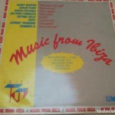 Discos de vinilo: VARIOS - KU MUSIC FROM IBIZA . Lote 184283158