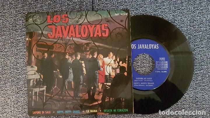 LOS JAVALOYAS. EP. SAPORE DI SALE. EDITADO POR EMI. AÑO. 1964. 7EPL 14.070 (Música - Discos de Vinilo - EPs - Grupos Españoles 50 y 60)